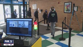 Some Illinois schools using new thermal tech to scan students' temperatures