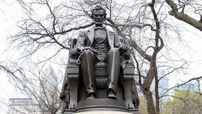 Fate of Abraham Lincoln statues under review in Chicago