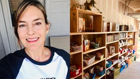 Texas teacher's garage library gets thousands of book donations from across the globe