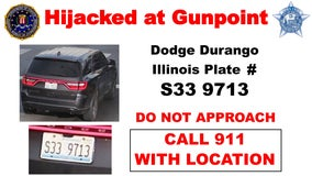 Stolen SUV sought in series of Chicago area carjackings, thefts: FBI