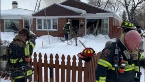 2 displaced in Evanston house fire