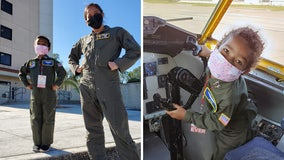 MacDill AFB 'thrilled' to help 5-year-old girl's spirits soar amid cancer battle