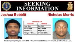 Pair wanted in Riverdale murder: FBI