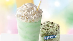 McDonald's Shamrock Shake is back ahead of St. Patrick's Day