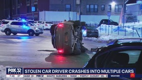 Driver charged after crashing into vehicles in Kenwood while fleeing traffic stop: police