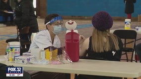 CPS teachers, staff start receiving vaccine as some students head back to in-person learning