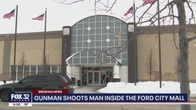 Man, 22, in serious condition after being shot at Foot Locker in Ford City Mall