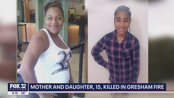 Mom and 15-year-old daughter dead in house fire in Chicago