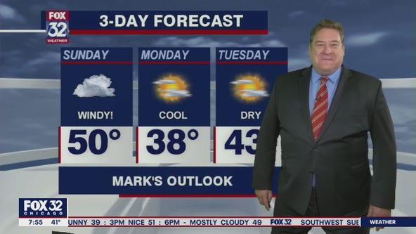 Sunday morning forecast for Chicagoland on Feb. 28