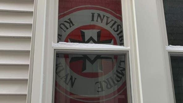 Grosse Pointe Park man hangs KKK flag in window facing Black neighbor sparking outrage