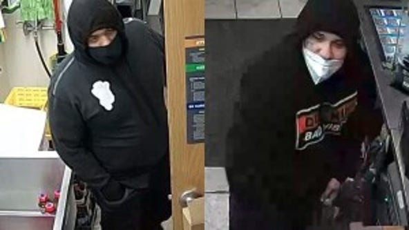 Pair wanted for shooting gas station clerk in McHenry County robbery