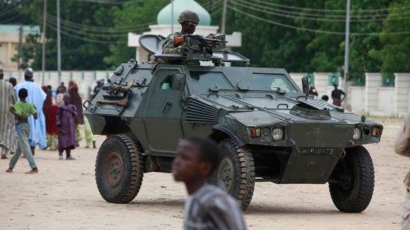 300 girls kidnapped from school in Nigeria