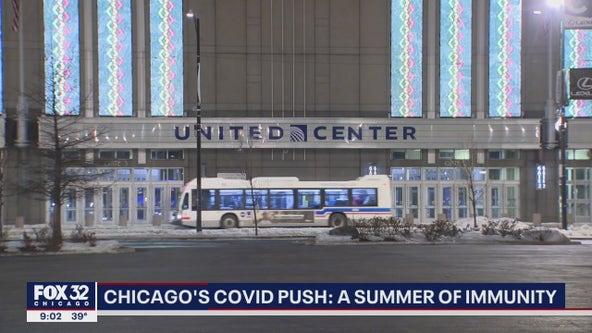 United Center vaccination site provides hope of normalcy in Chicago this summer