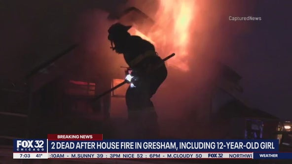 2 die in Gresham house fire; including 12-year-old girl