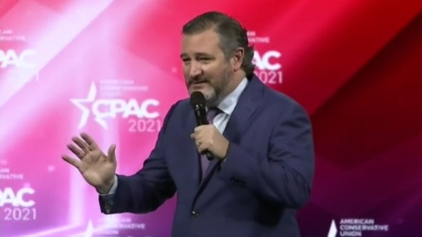 Ted Cruz jokes about Cancun trip controversy, says 'Trump ain't goin' anywhere' in CPAC speech