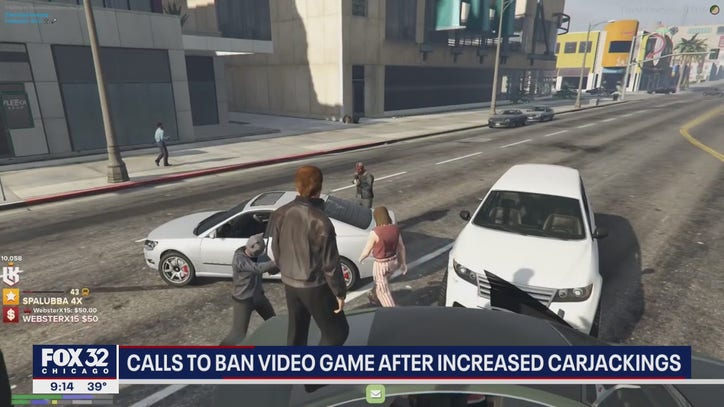 Illinois lawmakers want to ban 'Grand Theft Auto' amid spike in carjackings - FOX 32 Chicago