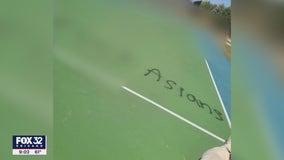 Hate crime investigation underway after Mokena park vandalized