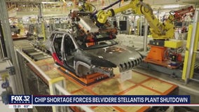 Global microchip shortage shuts down Belvidere Jeep plant