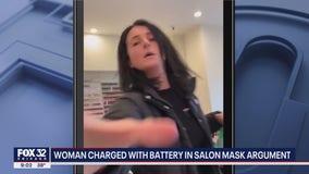 Suburban woman charged with attacking nail salon customer over masks