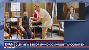 Belmont Village Senior Living Glenview celebrates being nearly 100% vaccinated