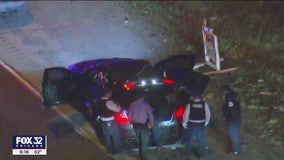 3 CPD officers hospitalized after police chase on Far South Side