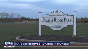Charges pending against 2 juveniles after racist graffiti was found in Mokena park