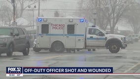 Car wanted in shooting of off-duty CPD officer found on South Side