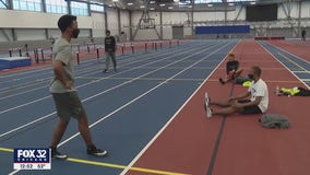 Twin brothers from Tinley Park competing together in track at Chicago State University