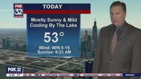 Morning forecast for Chicagoland on March 3rd