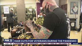 Tricoci University gives away free haircuts for veterans, active military