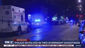 Off-duty Chicago police officer shoots man breaking into his home in Albany Park