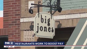 Chicago restaurant paying staff more to make up for loss in tips