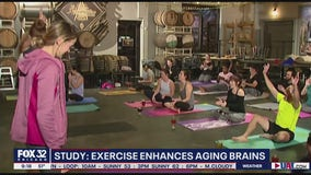 Study finds exercise sharpens aging brains
