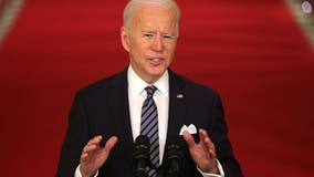Biden marks passage of $1.9T COVID-19 relief package with Rose Garden ceremony