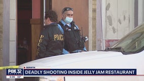 Suspect on the run after shooting, killing customer at Berwyn restaurant