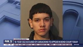 Man, 18, charged with carjacking 60-year-old woman at gunpoint