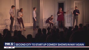 Second City to reopen in May