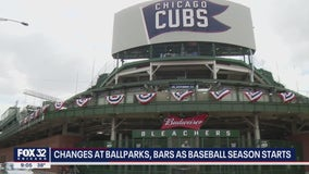 Cubs and Sox fans will face changes whether they're at the ballpark or a bar on Opening Day