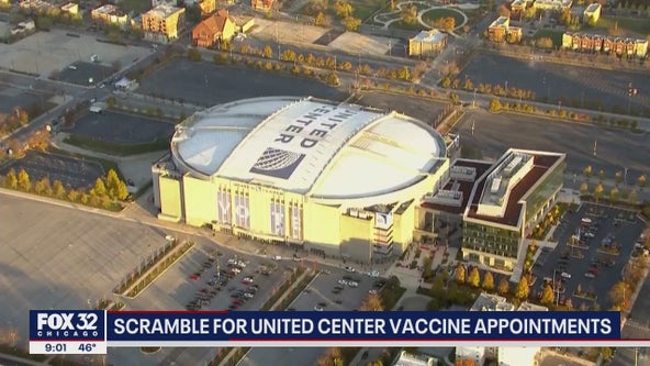United Center to begin mass vaccinations this week