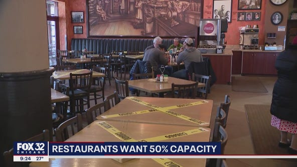 Chicago restaurants push for increase in dining capacity
