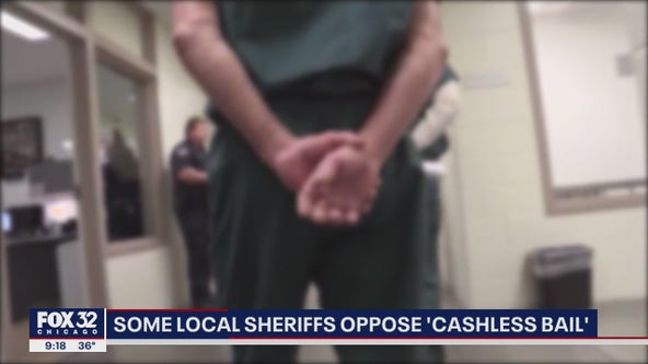 Some Illinois sheriffs oppose 'cashless bail'