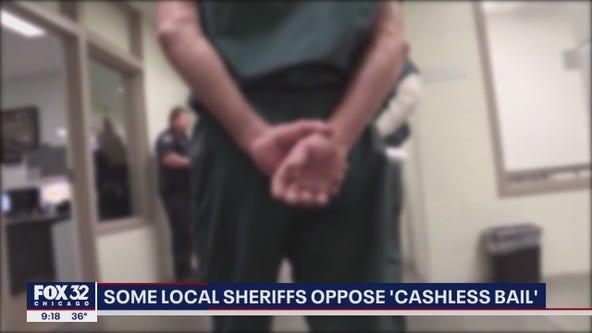 Some Illinois sheriffs oppose 'cashless bail'