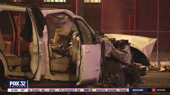 2 dead, 5 hurt in high-speed SW Side crash