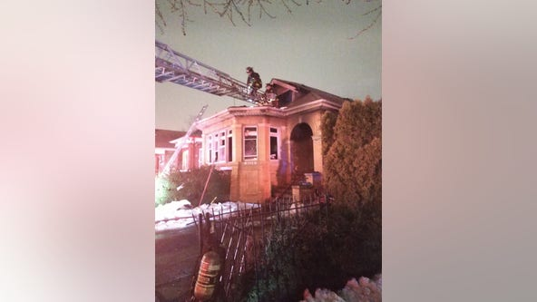 Arson, homicide detectives investigate South Side fire where mother, daughter died