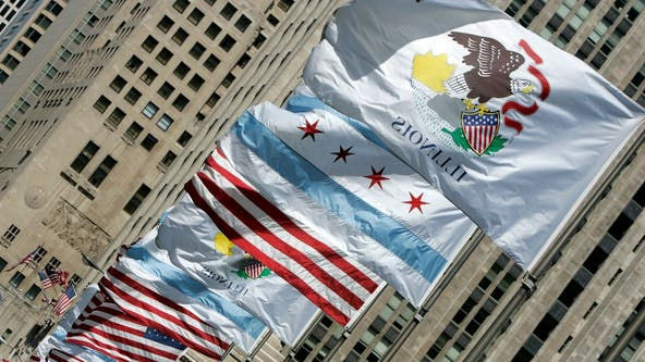 Bill would only permit Illinois institutions to buy American-made flags
