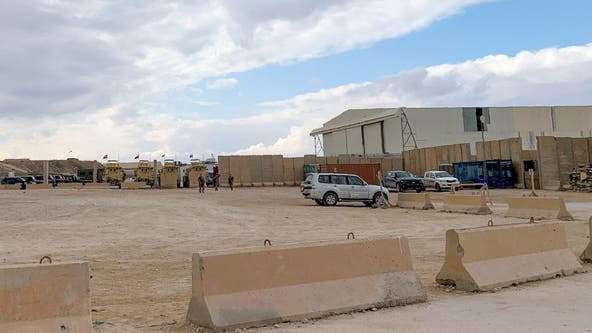Rockets hit airbase in Iraq hosting US troops, US forces say