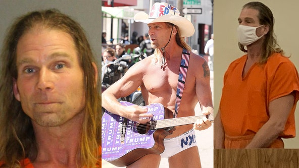 Police: Naked Cowboy arrested in Daytona Beach during Bike Week