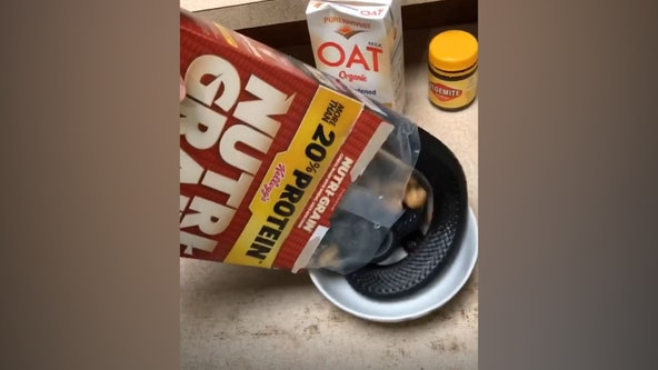 Australian man's cereal contains a serpent surprise