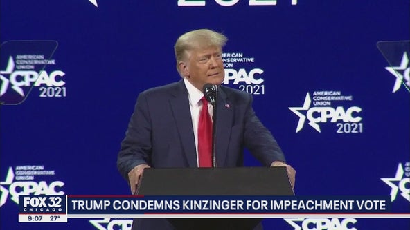 Trump urges Illinoisans to remove Kinzinger over impeachment vote