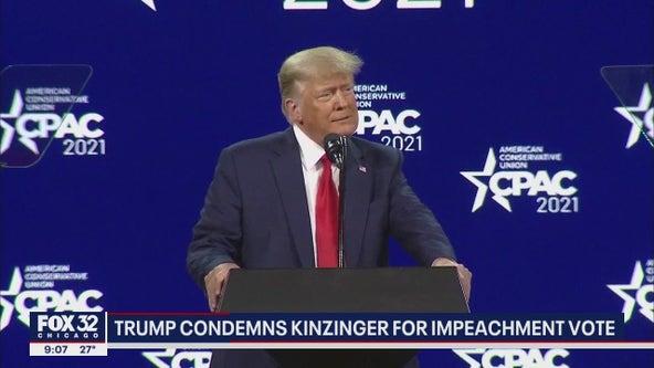Trump urges Illinoisans to remove Kinzinger over impeachment vote